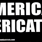 AAP - Keep America For Americats Bumper Sticker