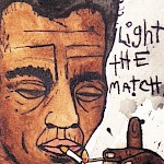 LB Briggs - James Baldwin Light the Match Postcard