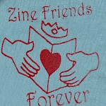 Billy McCall - Zine Friends Forever Patch Pack