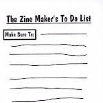 Billy McCall - Zine Maker's To-Do List