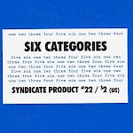Aj Michel, Various Artists - Syndicate Product #22: Six Categories