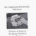 Zachary Auburn - My Complicated Relationship With Food, Vol. One