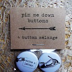 Meredith Rider - Letter Writing Button Pack