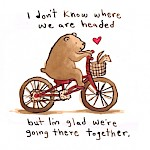 Kate Berube - Going There Together Greeting Card