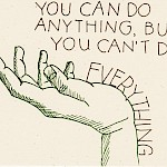 Hope Amico - You Can Do Anything Postcard